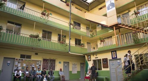 La Casa del Migrante de Tijuana acepta a personas de paso. (Foto: sandiegouniontribune.com)