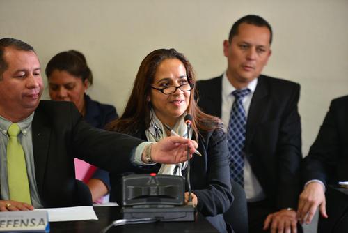 Sandra García España, la jefa de administración fue ligada por asociación ilícita y fraude.