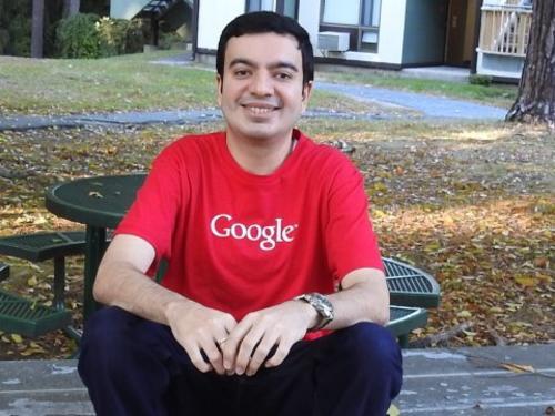 Sanmay Ved, estudiante de un MBA en EE.UU., quien compró por un minuto el dominio de Google. (Foto: businessinsider.com)