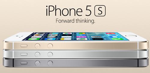 El iPhone 5S tiene un diseño moderno y liviano.