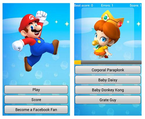 Con Super Mario Quiz los niños encontrarán diversión sin limites.