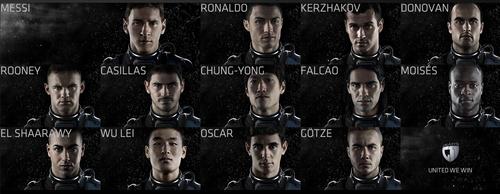 Los mejores jugadores del mundo son parte de la campaña Galaxy11.