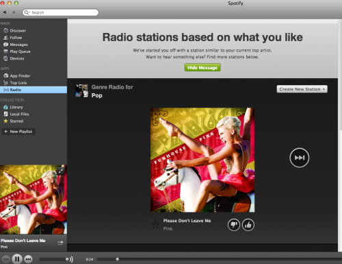Spotify ahora gratis para móvil y tablet.