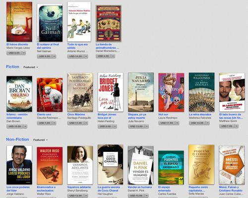 Los libros más descargadas según Apple.