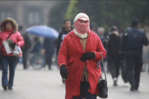 En México las autoridades están alerta por el fortalecimiento de un frente frío en estos días.