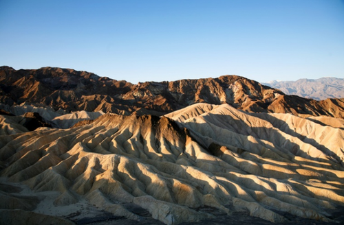 Valle de la Muerte, en California.