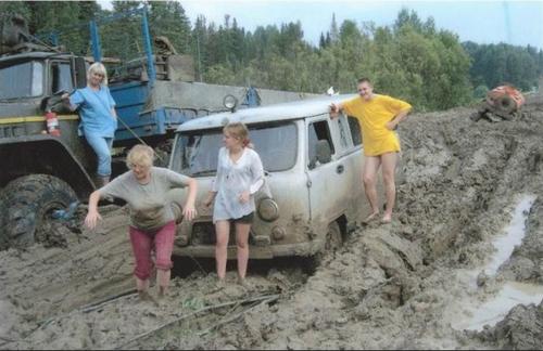 Carretera de Kolyma, en Rusia.