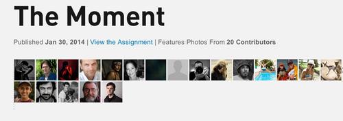 """La lista de los 20 autores de imágenes, que fueron los ganadores del concurso """"The Moment"""", de National Geographic."""