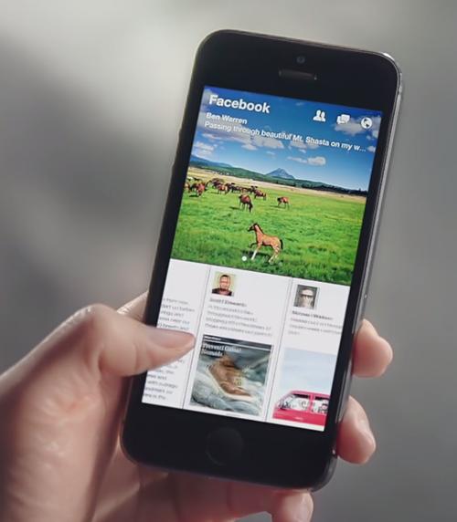 La aplicación cuenta con 19 secciones de noticias.