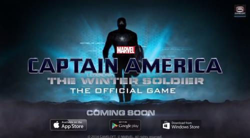"""El juego """"Capitán América: el soldado de invierno"""", saldrá el próximo marzo."""