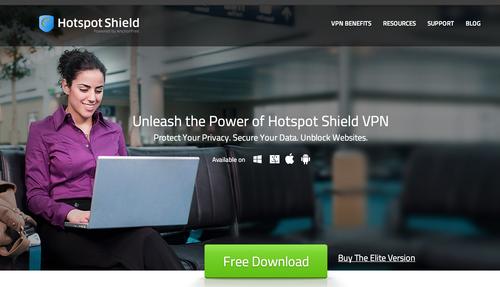La aplicación permite esconder la dirección IP y crear un usuario invisible de internet lo que evita el bloqueo de la red.