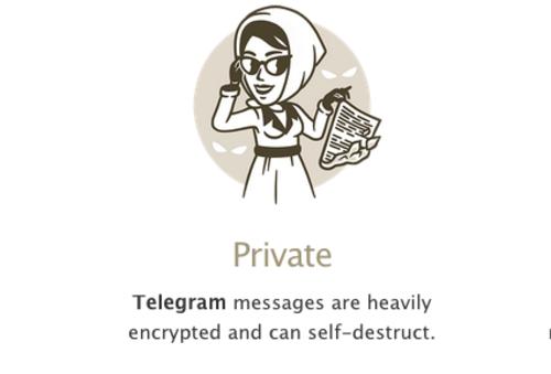 Telegram ofrece la autodestrucción de los mensajes tras haber transcurrido un período de tiempo predeterminado.  (Foto: Soy502)
