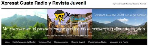 Diego, ganador del concurso, participa en el movimiento Xpresat Guate.