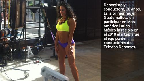 La conductora guatemalteca Rebeca Rubio es finalista en el Gran Chapuzón. (El Gran Chapuzón)