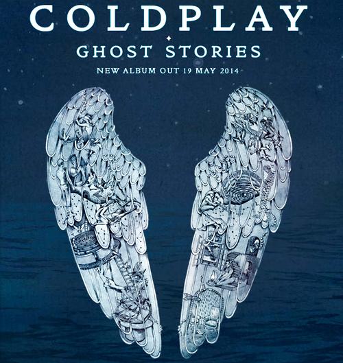 Esta será la portada del nuevo disco de Coldplay que saldrá a la venta en mayo. (Imagen: Coldplay.com)