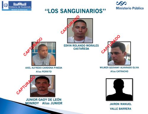 El cabecilla del grupo de supuestos sicarios sería según el MP Morales Castañeda quien prestó servicio militar. (Ilustración:MP)