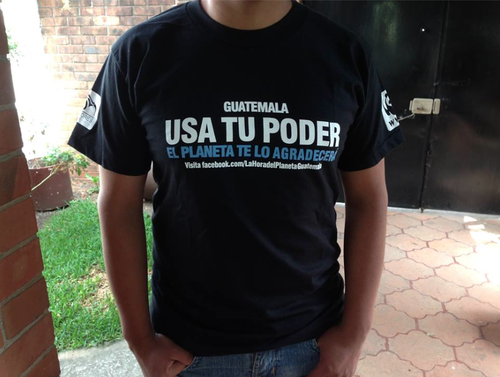 Universidades y organizaciones ciudadanas en Guatemala animan a la población a sumarse a La Hora del Planeta.