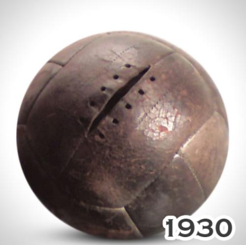 El balón que se utilizó en el Mundial de 1930.