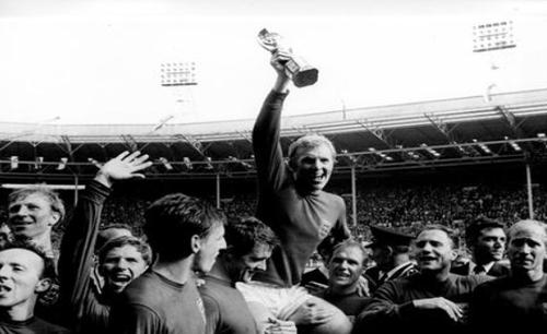 Inglaterra celebró por todo lo alto su triunfo en el Mundial de 1966.