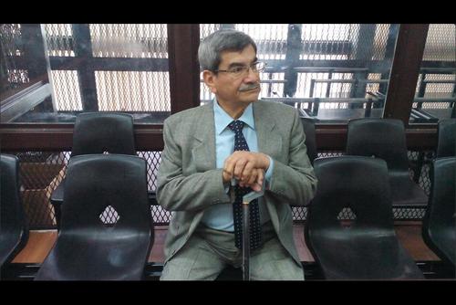 El Tribunal B de Mayor Riesgo rechazó la petición de José Mauricio Rodríguez Sánchez de dejar sin efecto el arresto domiciliar con vigilancia de la PNC. (Foto: Archivo/Soy502)