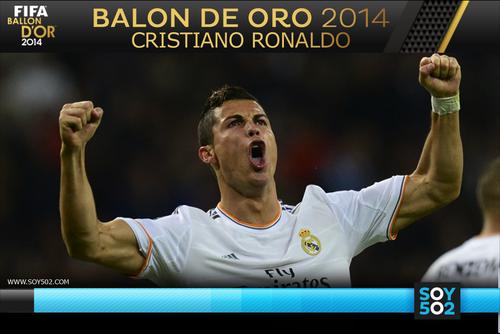 La edición anterior fue ganada por Cristiano Ronaldo.