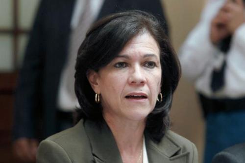 Cynthia del Águila renunció al cargo en agosto de 2015. (Foto: Soy502)