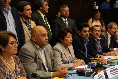 La Comisión específica de asuntos electorales presentó el dictamen favorable a la reforma de la Ley Electoral después de siete días de trabajo. (Foto: Archivo/Soy502)