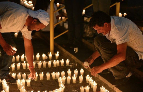 Durante la actividad, los discursos de llamado al voto para Baldizón y Barquín se mezclaron con oraciones católicas y evangélicas.  (Foto: Archivo/Soy502)