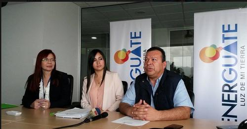 Energuate presentó su plan estratégico para atender cualquier emergencia que se pueda dar el 6 de septiembre. (Foto: Soy502)