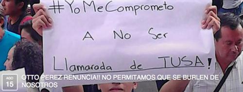 Miles de personas han confirmado su participación en la manifestación programada para mañana sábado. (Foto : Facebook)