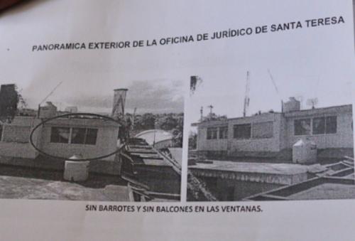 Vista de la parte de afuera del lugar donde guardará prisión Baldetti y el cual será remozado. (Foto: Wilder López/Soy502)