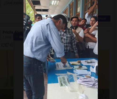 Alfonso Portillo no pudo participar como diputado por TODOS para esta elección.  (Foto: Nuestro Diario)
