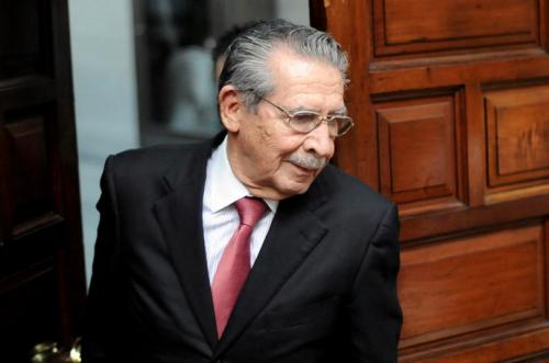 El juicio contra Efraín Ríos Montt inicia en enero. (Foto: Archivo/Soy502)