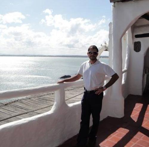 Montano en un paseo por barco. (Foto: Archivo/Soy502)