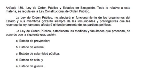 La ley establece los mecanismos para garantizar el orden público.  (Foto: Soy502)