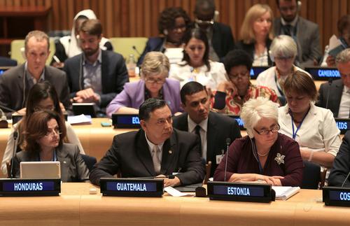 El vicepresidente Fuentes Soria participó en el foro sobre desigualdad junto a representantes de países de todo el mundo.