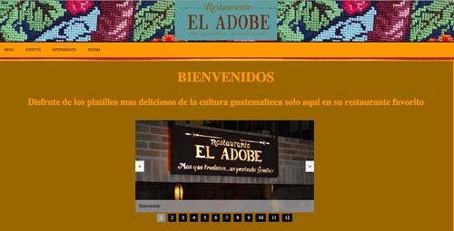 """Con esta propuesta, el estudiante espera crear mejores oportunidades publicitarias al restaurante """"El Adobe""""."""