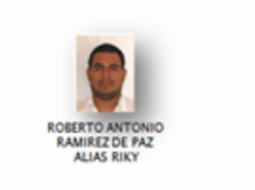 Roberto Antonio Ramírez de Paz, alias Riky, es uno de los 17 prófugos.