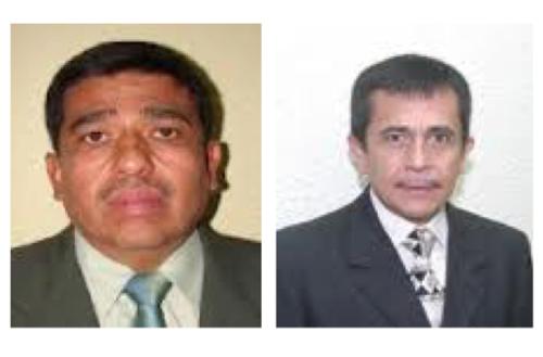 Los hermanos Édgar e Iván Arévalo Barrios fueron elegidos como representantes de Totonicapán.