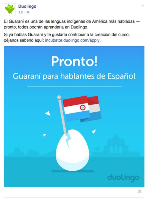 El curso estará disponible para hablantes del español en primera instancia.