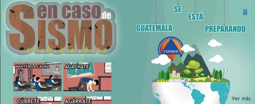 Los sismos son una de las principales tragedias naturales de Guatemala. (Foto: CONRED)
