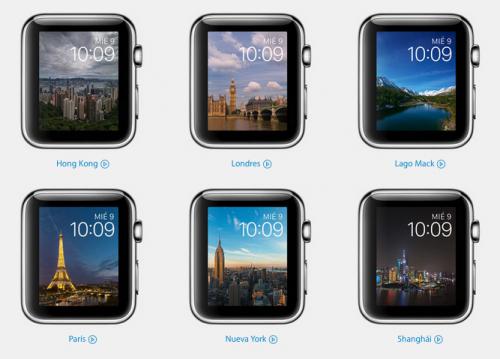 Las imágenes de portada del nuevo Apple Watch 2, fueron capturada en ciudades emblemáticas de todo el mundo. (Foto: apple.com)