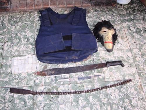 El ladrón usaba este equipo para cometer los asaltos. (Foto: PNC)