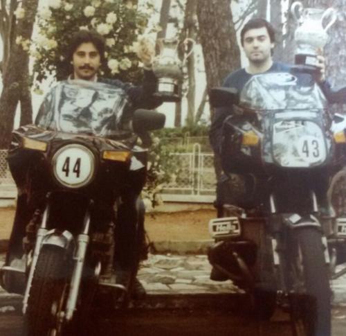Miguel Parrondo meses antes de sufrir el accidente que lo dejó en coma 15 años. (Foto: El País)