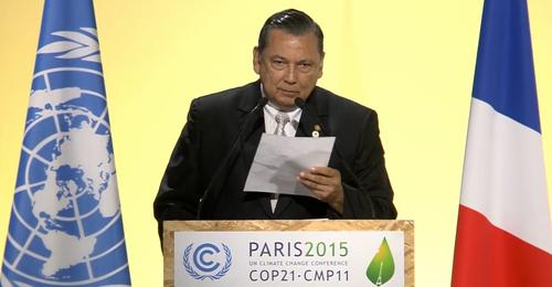 El vicepresidente participó este lunes en la COP21, celebrada en París, Francia.