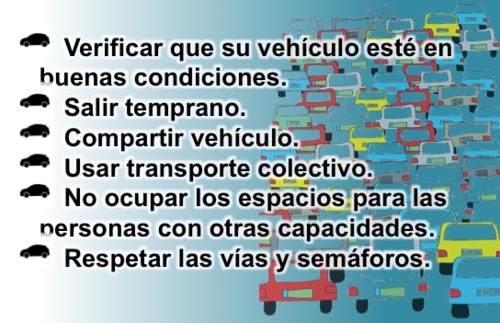 Las autoridades ofrecen una serie de recomendaciones para evitar el tránsito.