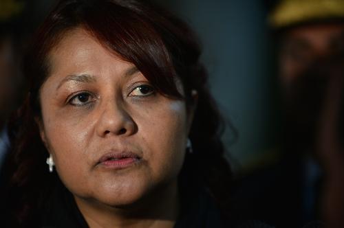 La Ministra de Gobernación aseguró que no puede dar muchos detalles sobre la investigación en la Digici. (Foto: Wilder López/Soy502)