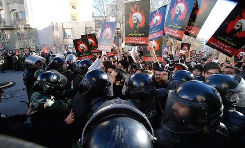 Los hechos entre Arabia Saudí e Irán provocaron protestas violentas. (foto: EFE)