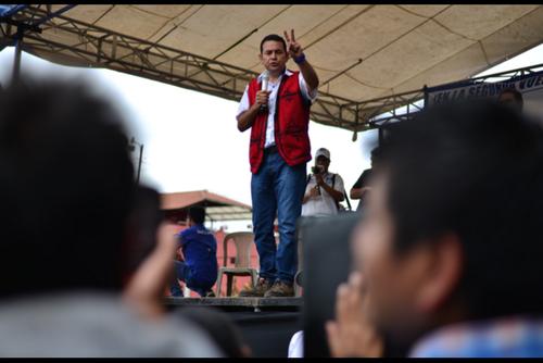 El FCN reconoce que incorporar a tránsfugas a su bancada es incumplir una promesa de campaña de Jimmy Morales. (Foto: Archivo/Soy502)