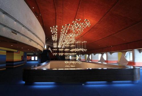 Este es el interior del teatro nacional, en el centro cultural Miguel Ángel Asturias. (Foto: Archivo/Soy502)